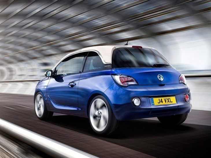 Vauxhall Adam Blue Exterior Back