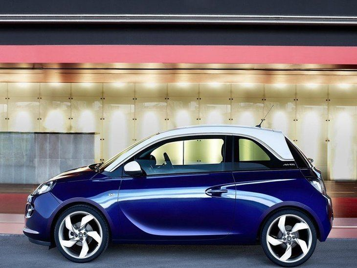 Vauxhall Adam Blue Exterior Side2