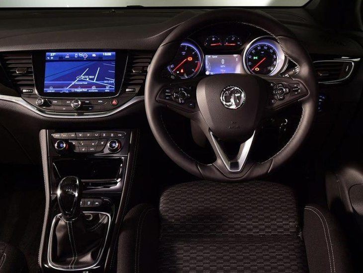 Vauxhall Astra New Model Black Interior