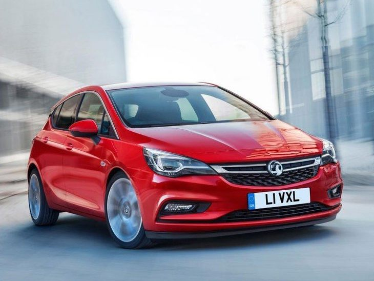 Vauxhall Astra New Model Red Exterior Front