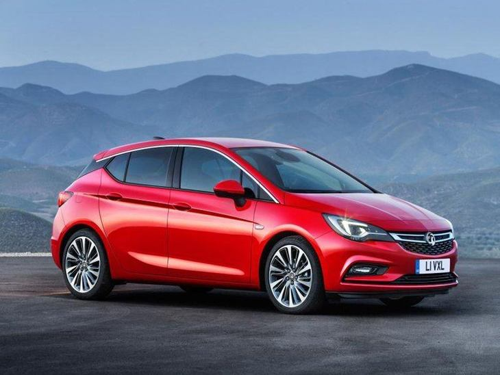 Vauxhall Astra New Model Red Exterior Side