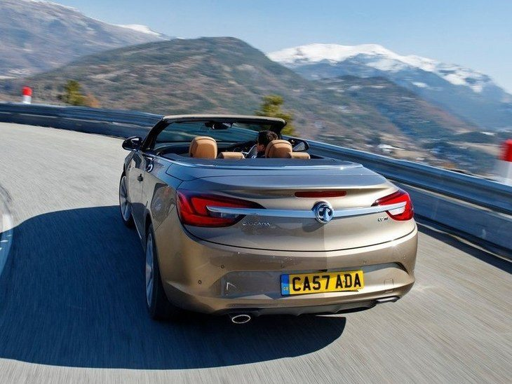 Vauxhall Cascada Brown Exterior Back