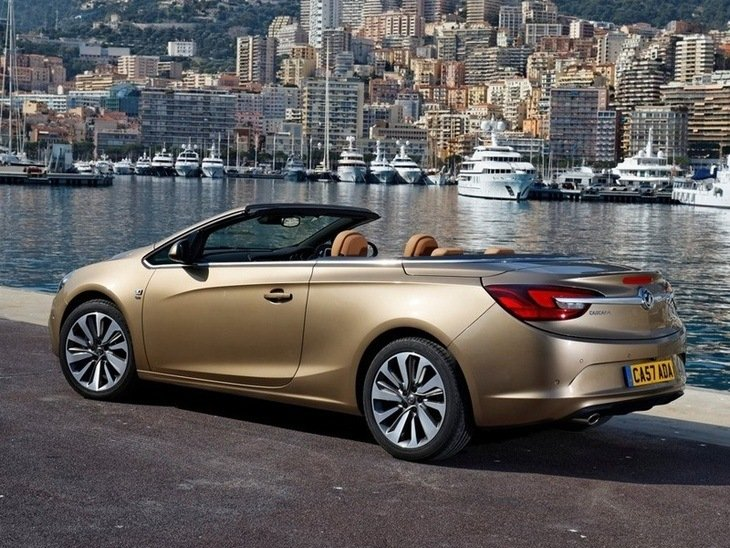 Vauxhall Cascada Brown Exterior Side