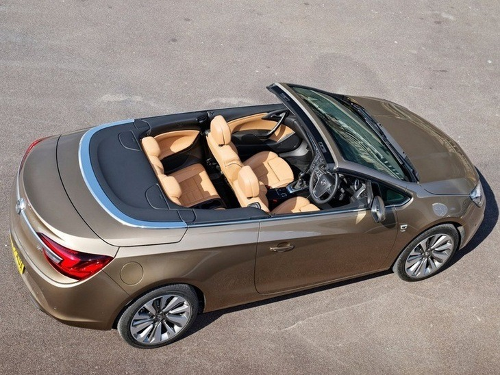 Vauxhall Cascada Brown Exterior Top