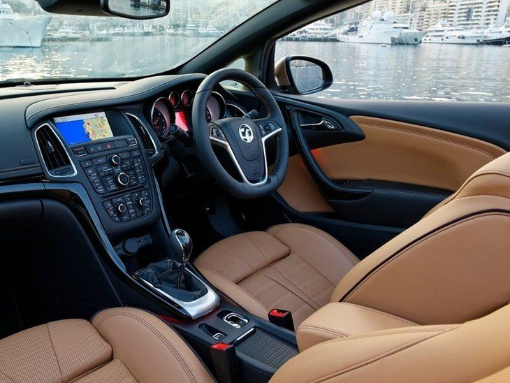 Vauxhall Cascada Brown Interior2