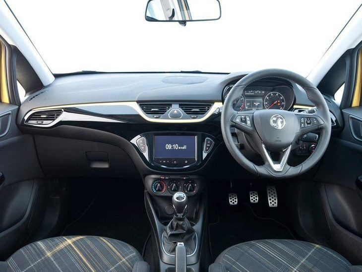 Vauxhall Corsa 3-Door Black Interior