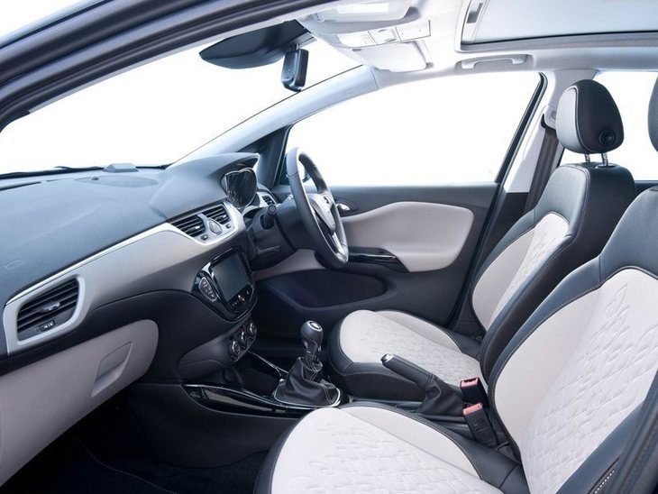 Vauxhall Corsa 3-Door Black Interior2