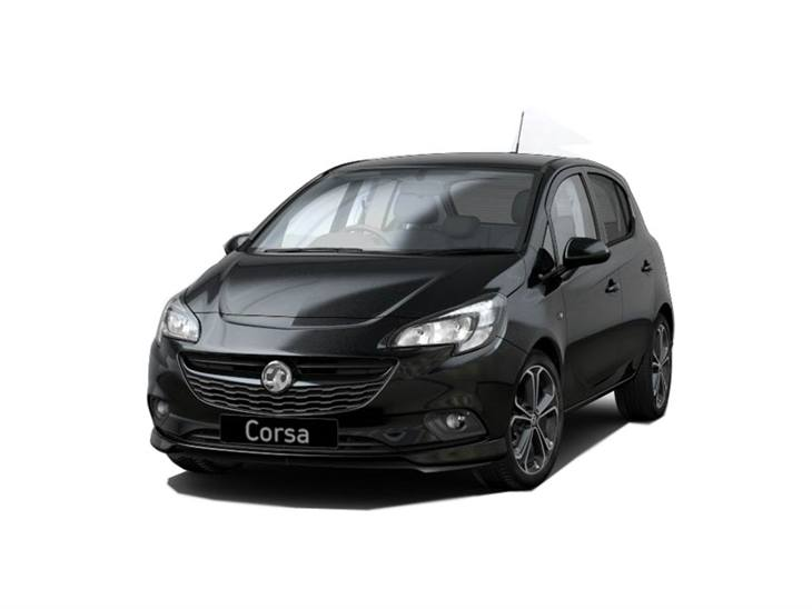 vauxhall corsa 5 door 1 4t 150 black edition 5dr car leasing nationwide vehicle contracts. Black Bedroom Furniture Sets. Home Design Ideas
