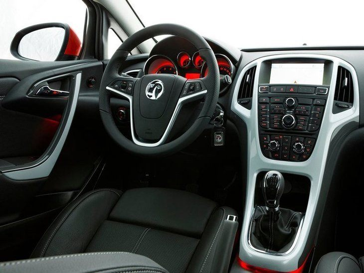 Vauxhall GTC Black Interior