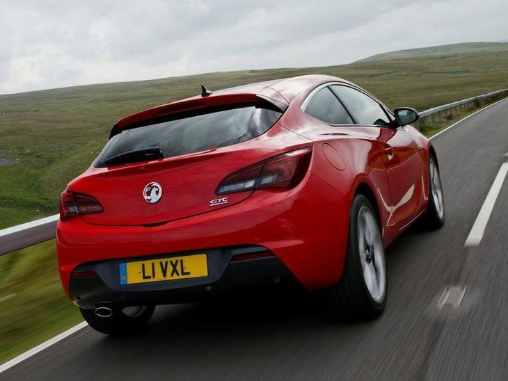 Vauxhall GTC Red Exterior Back