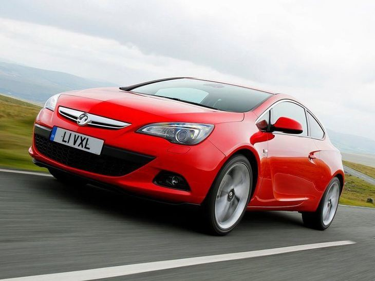Vauxhall GTC Red Exterior Front