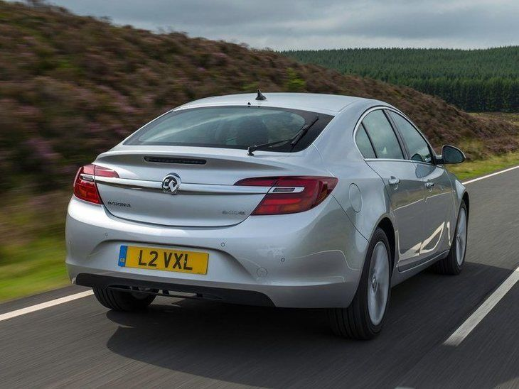 Vauxhall Insignia Silver Exterior Back