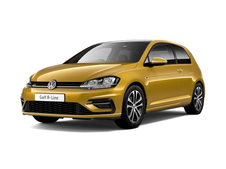 volkswagen golf hatchback 2 0 tdi r line 3dr car leasing nationwide vehicle contracts. Black Bedroom Furniture Sets. Home Design Ideas