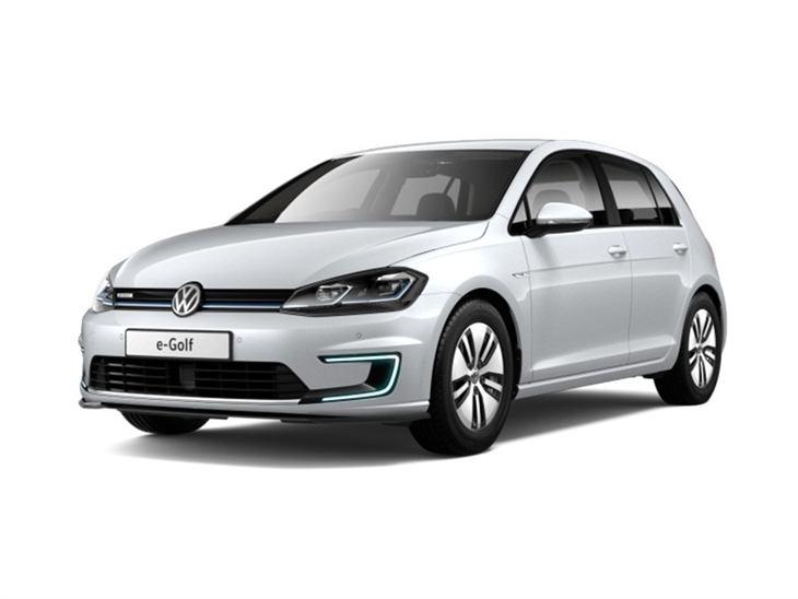 volkswagen golf hatchback e golf 5dr auto car leasing. Black Bedroom Furniture Sets. Home Design Ideas
