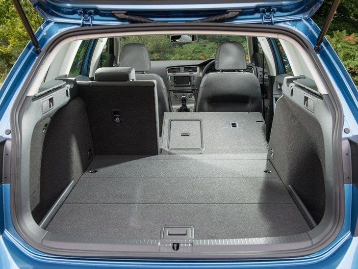 Volkswagen Golf Estate Blue Interior Back