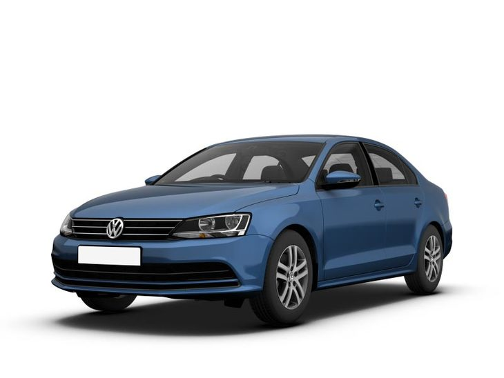 Volkswagen Jetta Blue Side
