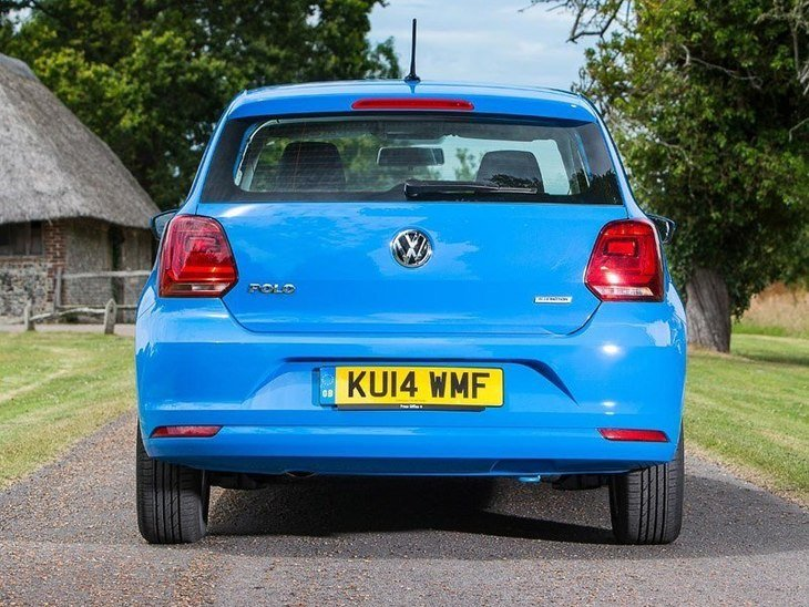Volkswagen Polo 3 Door Blue Exterior Back