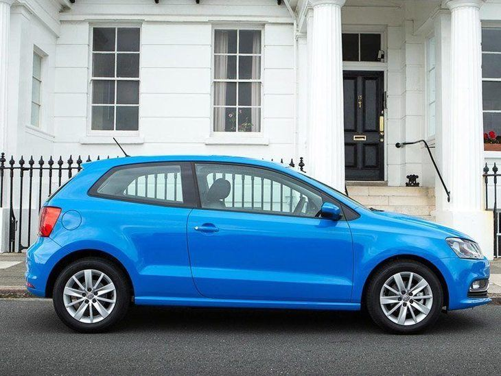 Volkswagen Polo 3 Door Blue Exterior Side