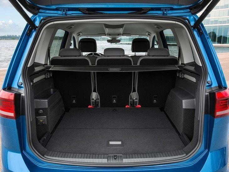 Volkswagen Touran New Model Exterior Blue Back 2