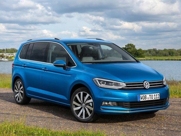 Volkswagen Touran New Model Exterior Blue Front