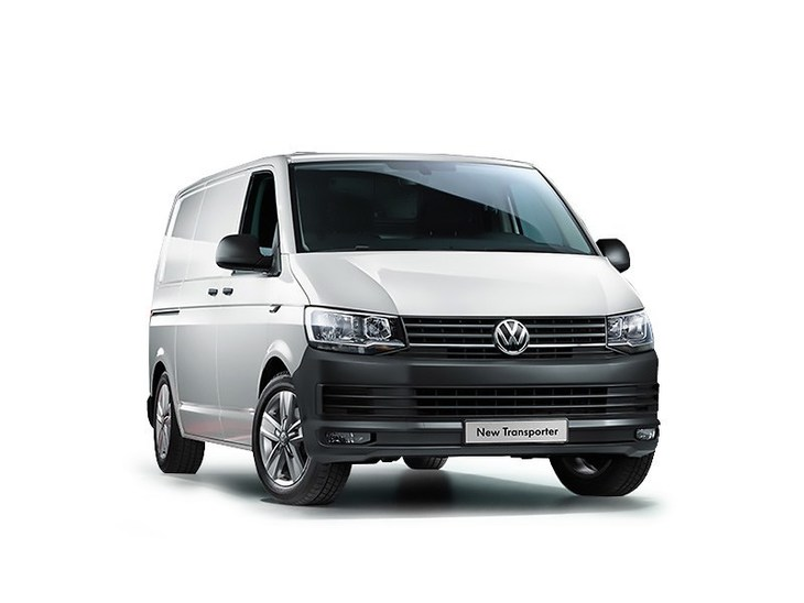Volkswagen Transporter New Model silver front