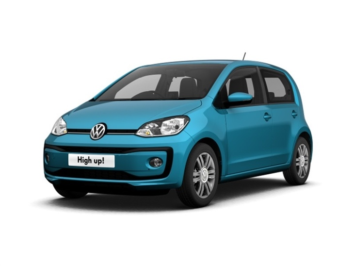 volkswagen up 1 0 90ps high up 5dr car leasing. Black Bedroom Furniture Sets. Home Design Ideas