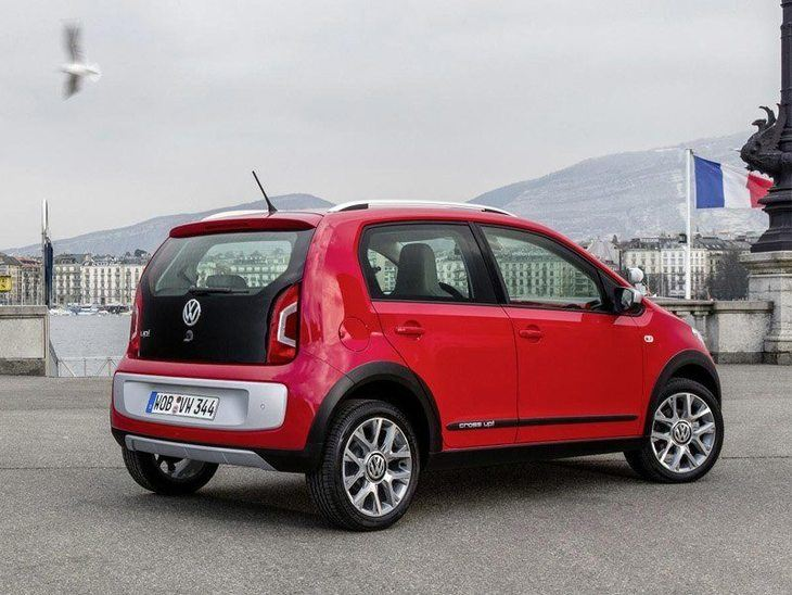 Volkswagen Up Exterior Red Back