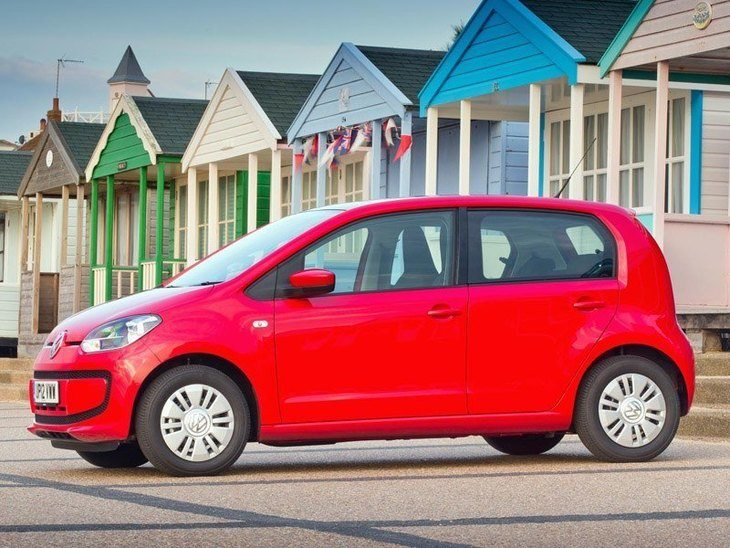 Volkswagen Up Exterior Red Side