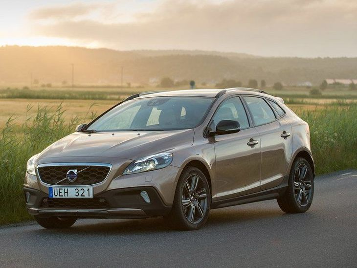 Volvo V40 Brown Front