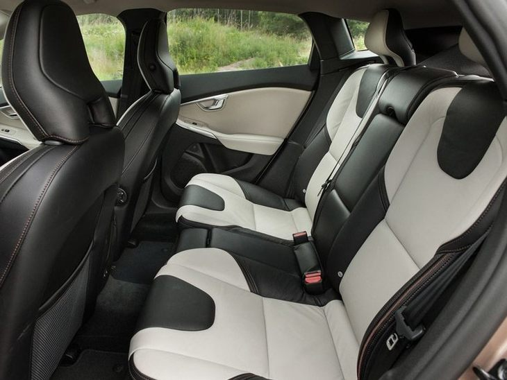 Volvo V40 Interior Backseat