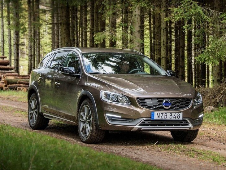 Volvo V60 Exterior Brown Front