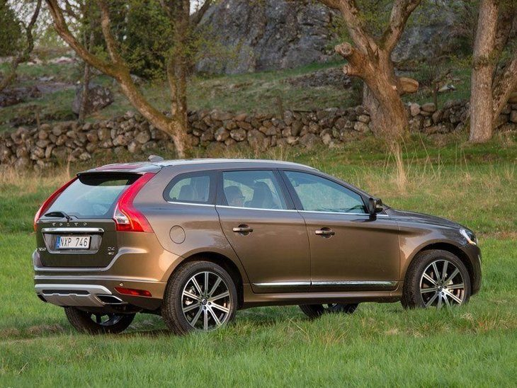 Volvo XC90 Exterior Brown Back