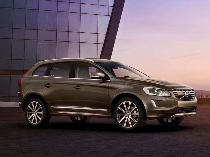 Volvo XC90 Exterior Brown Front 2