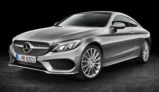 All-New Mercedes-Benz C-Class Coupe On Its Way