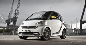 Smart cars go all interior with the Smart Fortwo BoConcept edition