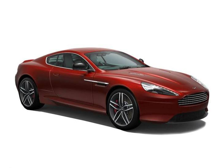 Aston Martin DB9 Coupe Red Front