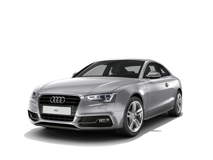 Audi A5 Coupe Grey Front
