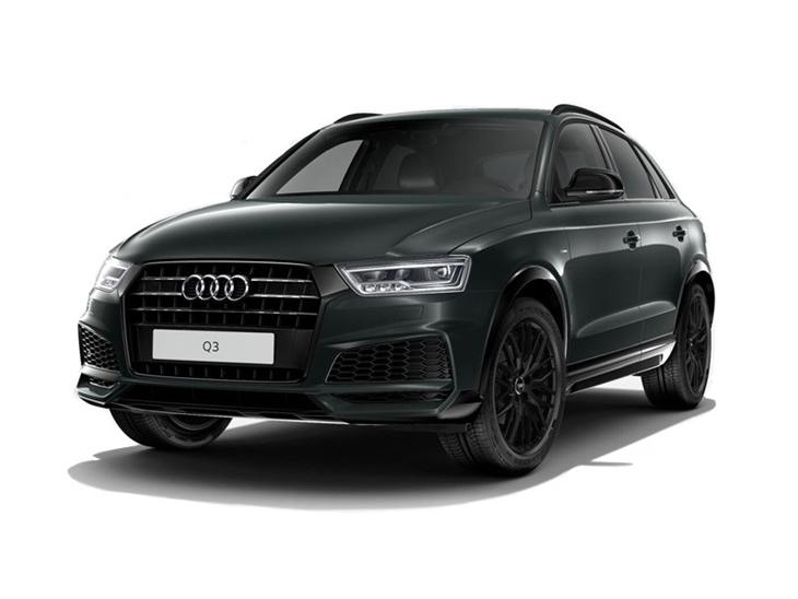 audi q3 2 0 tdi quattro black edition car leasing nationwide vehicle contracts. Black Bedroom Furniture Sets. Home Design Ideas