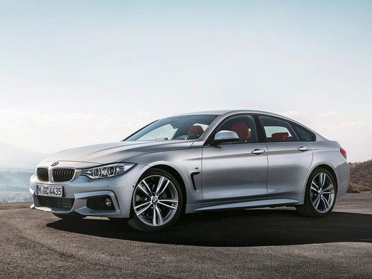 BMW 4 Series Gran Coupe Silver Front