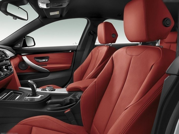 BMW 4 Series Gran Coupe Red Interior 2