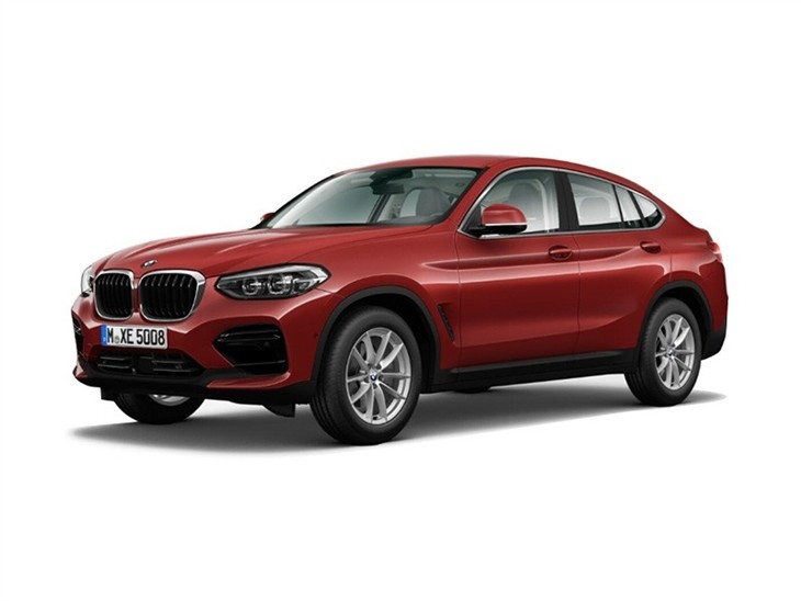 BMW X4 2019 Sport in red front left view