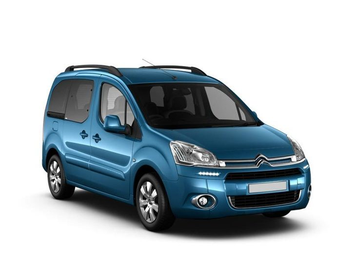 citroen berlingo multispace blue front