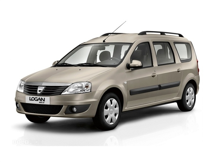 Dacia Logan Exterior Gold White Back
