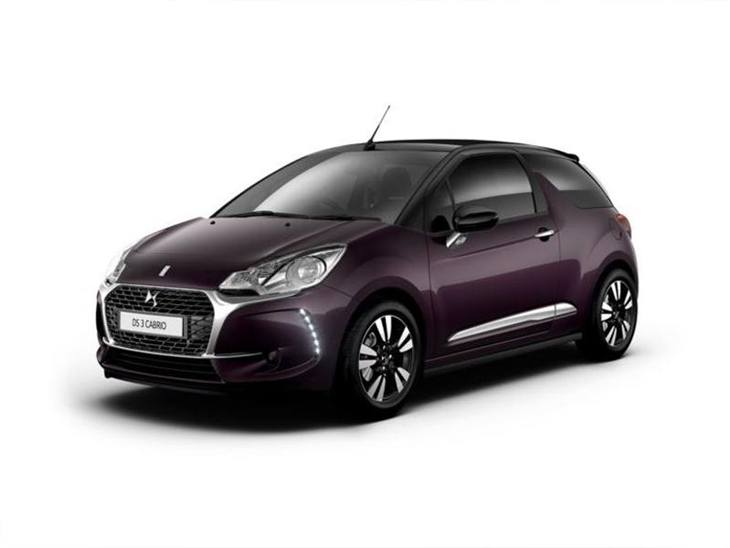 ds ds3 cabrio 1 2 puretech connected chic eat6 car leasing nationwide vehicle contracts. Black Bedroom Furniture Sets. Home Design Ideas