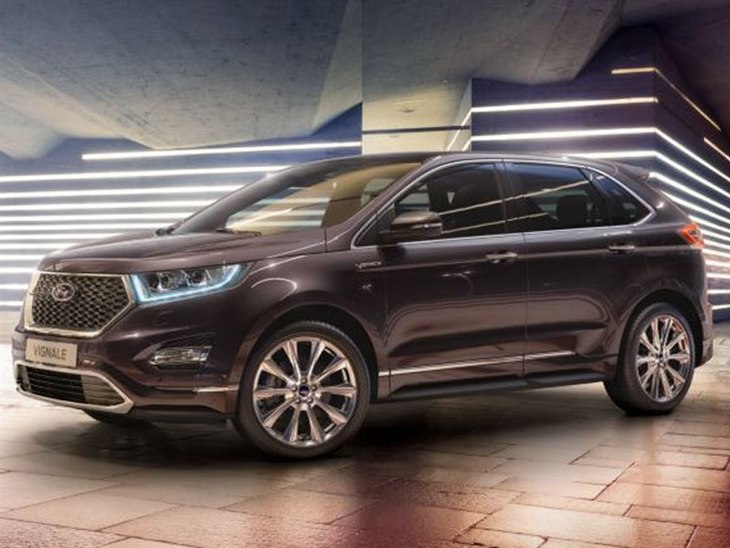 Ford Edge Vignale Exterior Black Front