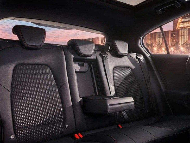 The Rear Passenger Seats in the New Ford Focus