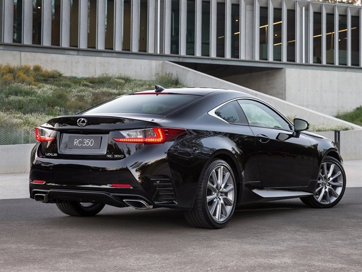 Lexus RC Black Exterior Back