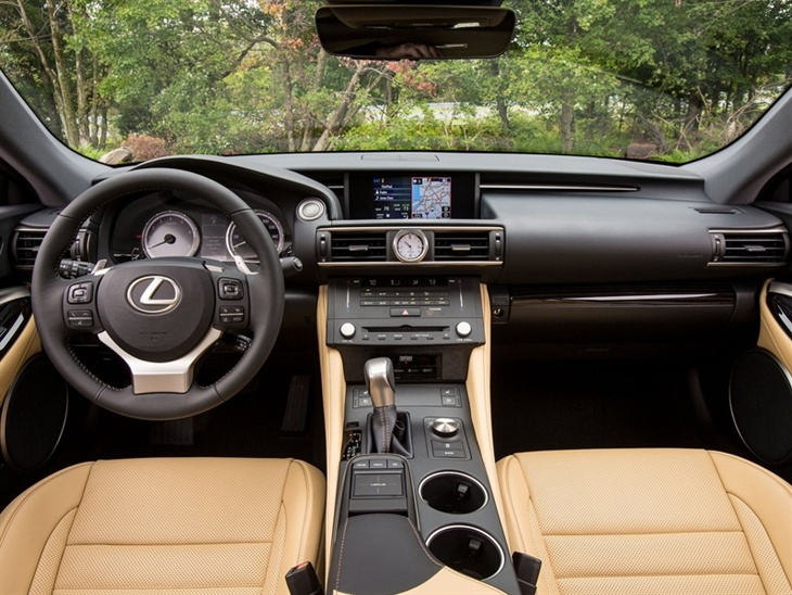Lexus RC Black Interior