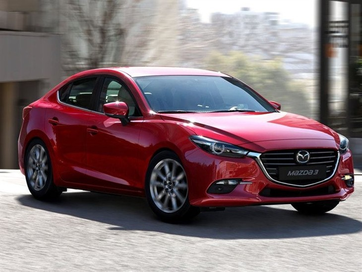 Mazda 3 Fastback Red Front Exterior