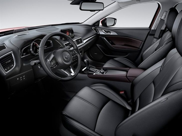 Mazda 3 Hatchback Interior 2